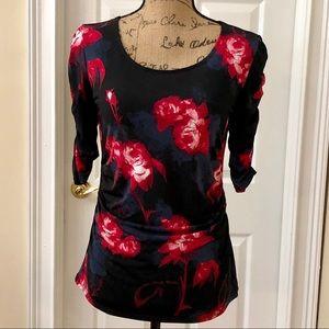 Alfani floral blouse